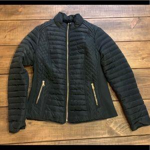 NWOT Ymi Brown Puff coat